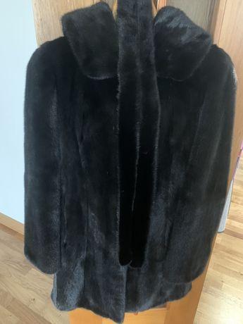 Норковая шуба, размер 42-44