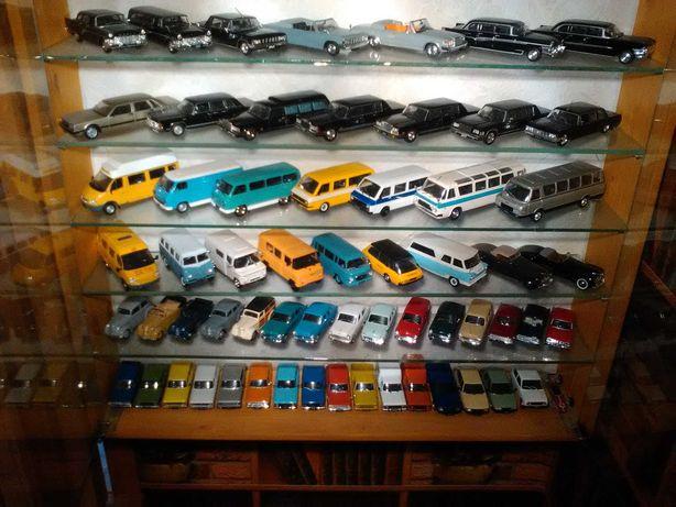 Продам коллекционные модели автомобилей от DeAgostini