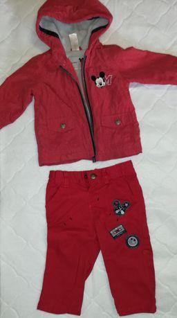 Set pantaloni și Geaca Mickey mărimea 68