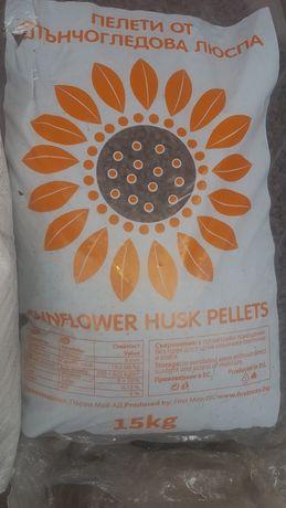 Пелети 6мм - слънчогледови