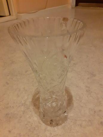 Vaza de cristal .