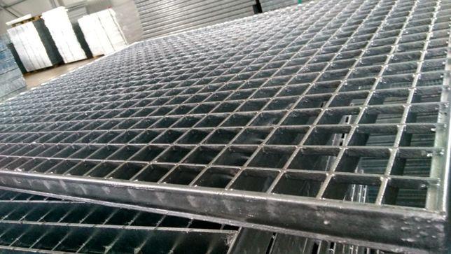 Gratare metalice Meiser, zincate presate tip Ultra,1000x1000 mm