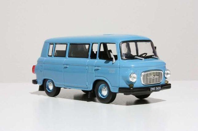 Macheta masinuta minicar jucarie Barkas 1000 Van miniatura
