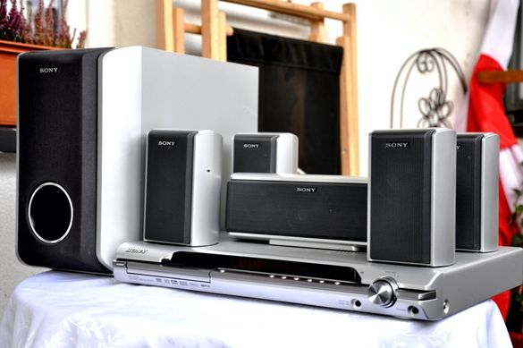 850W Sony DAV-DZ110 5+1 Съраунд DVD система