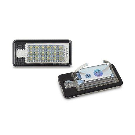 LED плафони регистрационен номер Ауди Audi A3 A4 A5 A6 Q7 S6 RS4 RS6