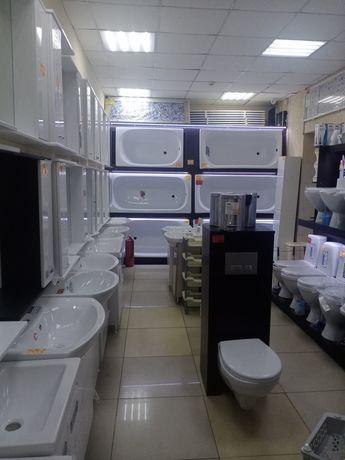 Ванны, унитазы, раковины, зеркала от САЯХАТ
