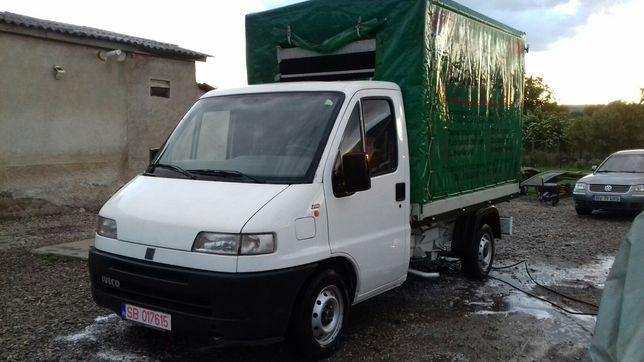 Vand Fiat Ducato pregatit pentru transport animale