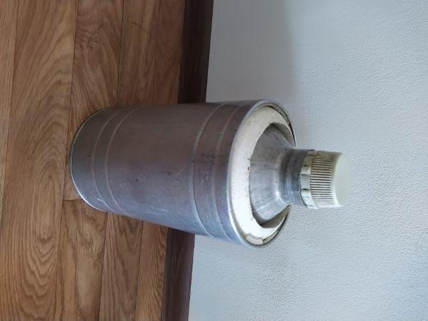 термос в алюминиевой обойме