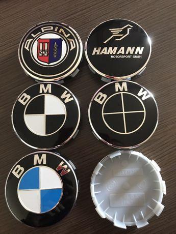 Капачки За Джанти BMW / БМВ Черни Hamann Alpina E36/39/46/60/90