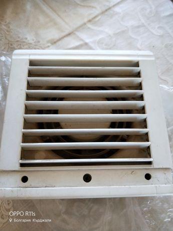 Вентилатор с реверсивен двигател за прозоречен или стенен монтаж