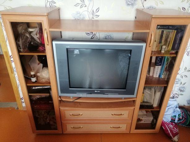 Мини стенка + телевизор Rolsen