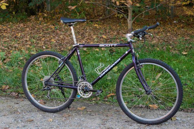 Bicicleta SCOTT aluminiu foarte usoara si rapida, Shimano Asics 58cm