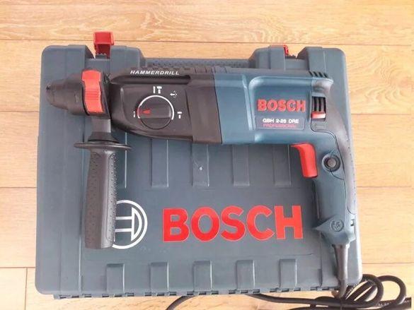 Нов перфоратор-къртач Бош Bosch GBH 2-26-DFR-800вт.-професионален