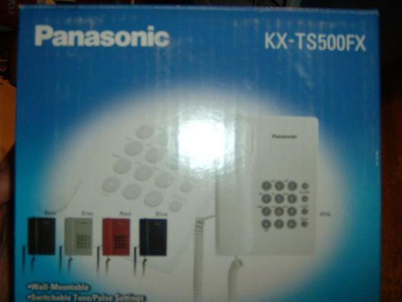 Стационарен телефон PANASONIC KX-TS500FX