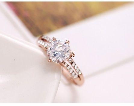 Inel de logodna / zirconiu