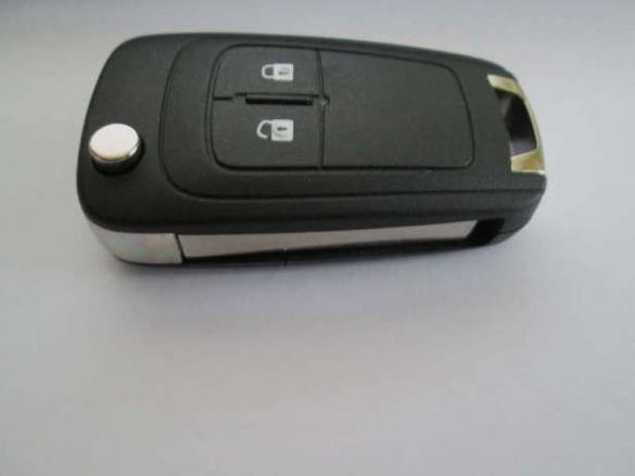 Автоключ сгъваем с 2 бутона за Opel комплект (Astra J/Zafira C)!