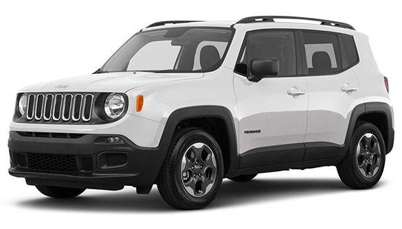 Jeep Renegade на части