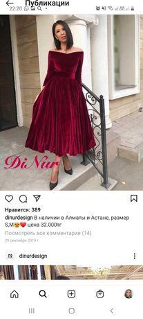 Продам платье 48 размера в идеале казахстанский дизайнер