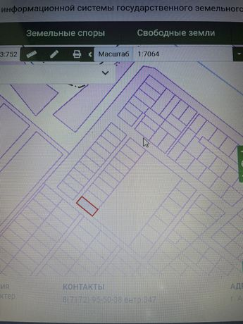 Продам земельный участок в Жибек жолы, 1 мкр