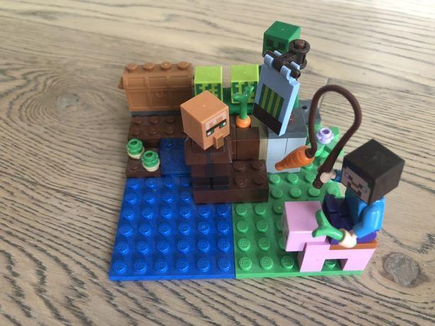 Lego minecraft Лего майнкрафт арбузная ферма