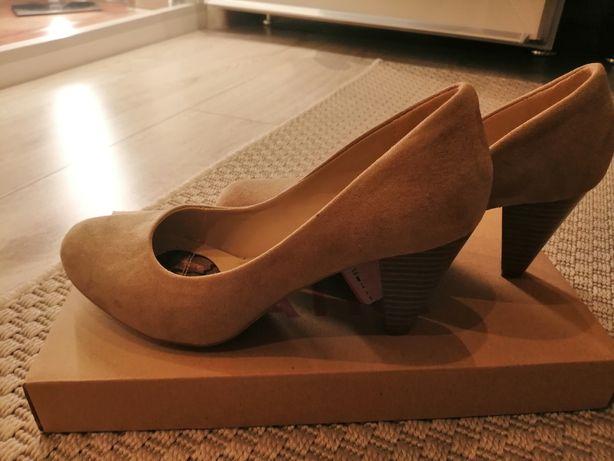 Pantofi dama 37 piele nabuc