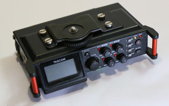 Tascam DR-70D recorder audio digital