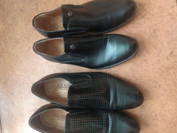 Продаются две пары туфель подростковых 40,41размер