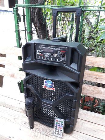 Troler Boxă Karaoke Bluetooth