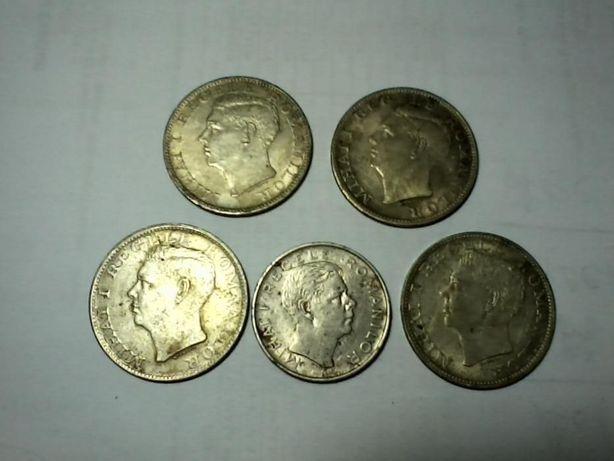 4 monede argint Regele Mihai