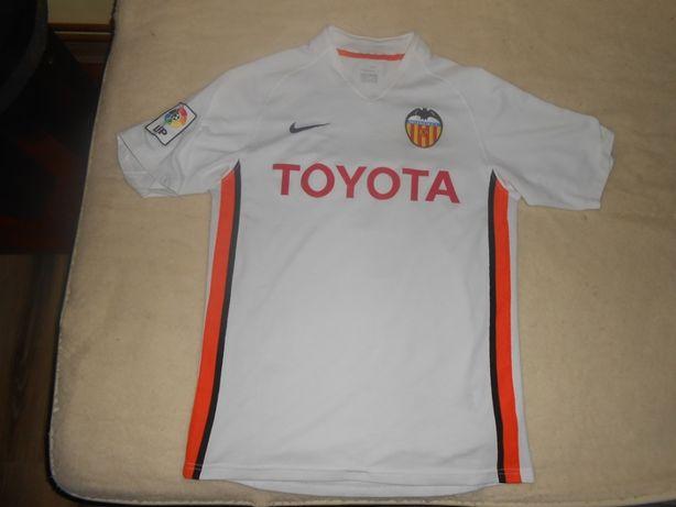 tricou fotbal valencia #7 fredde nike marimea S
