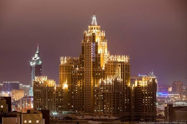 Квартира в ЖК Триумф Астана.