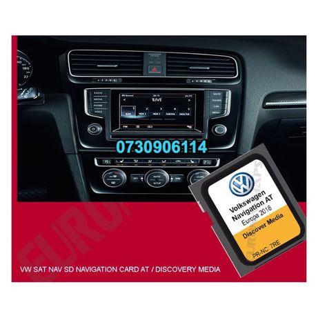 Hărți navigație 2020 VW Passat B8 Golf 7 Tiguan II Sharan Touran Skoda