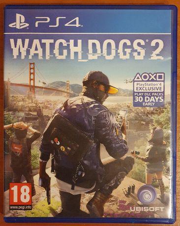 Перфектен диск с играта WATCH DOGS 2 PS4 Playstation 4 Плейстейшън