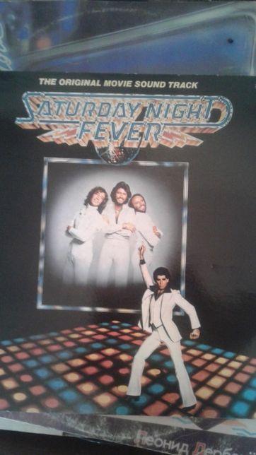 "винил двойной Bee Gees ""Saturday night fever"""