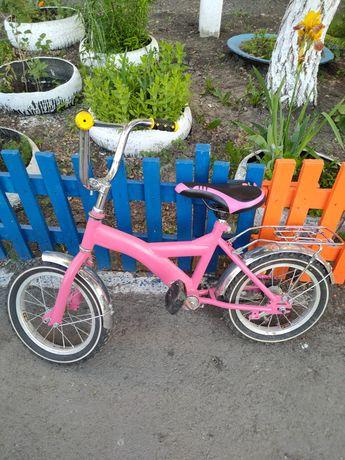 Продам детский велосипед для девочки 5 -7 лет