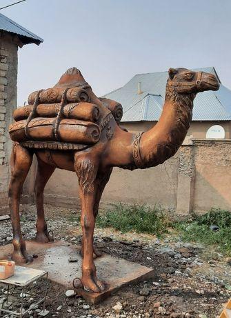 Мүсін жасау/Изготовление скульптур