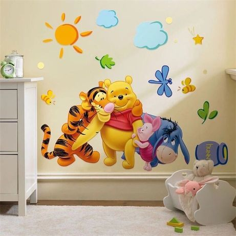 Sticker decorativ de perete copii Winnie