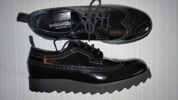 Dsquared2 - нови обувки от естествен лак