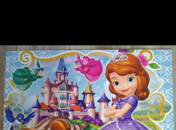 Пъзел Sofia the First - 104 части, години 6+