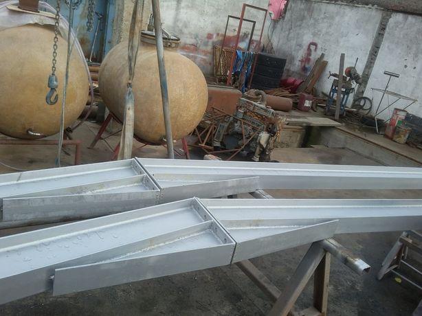 Vand ferme în două ape pentru acoperis la hală metalica facem si stâlp