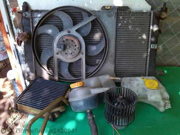 Опел асрта F 97г 1.6 моно инжекция комплект водно охлаждане.