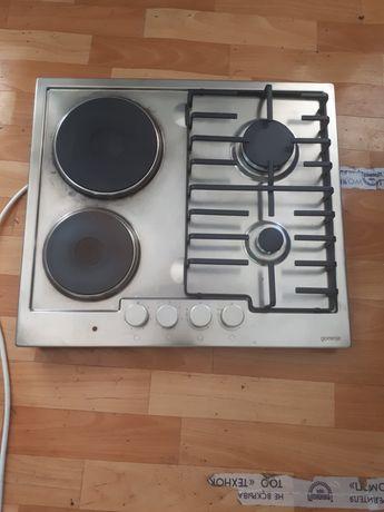 Комбенированная  электрогазовая плита фирма кайзер германия размер