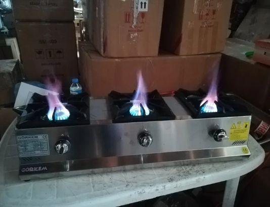 Газови котлони Нови модели Корпус от неръждаема стомана,горелките са