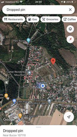 Teren Bucov apropiere Mica Roma