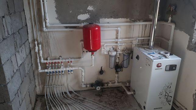 Сантехник.Отопление,водопровода, канализация, Прочистка канализация.