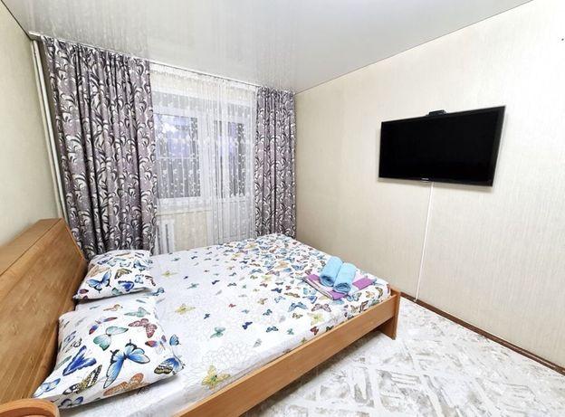 Квартира часовая в Привокзальном  1 комнат  час 1500