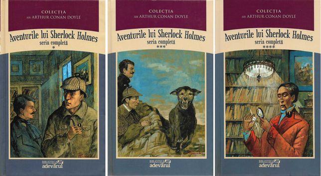 Sir Arthur Conan Doyle, Aventurile lui Sherlock Holmes, 3 volume