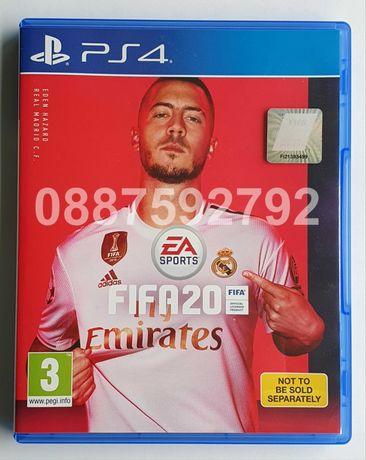 Перфектен диск с игра FIFA 20 PS4 Playstation 4 ФИФА 2020 Плейстейшън