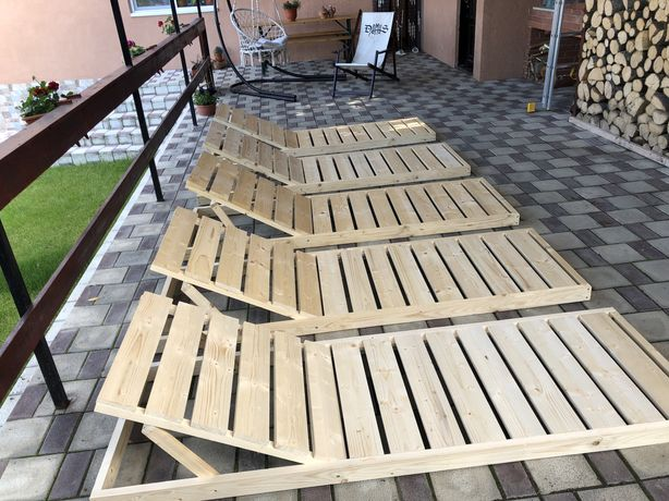 Sezlong lemn