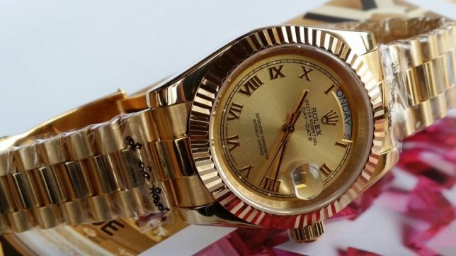 Rolex Day Date President 2 Automatic. all gold color. Best version .
